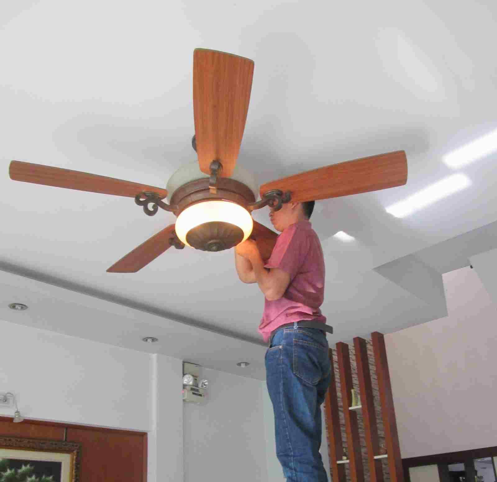 Hướng dẫn cách bảo dưỡng quạt trần đơn giản từ A-Z