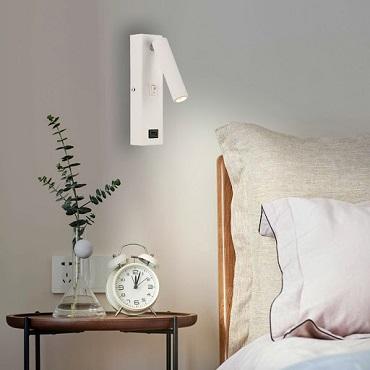 TOP đèn đọc sách đầu giường bảo vệ mắt tốt nhất không nên bỏ qua