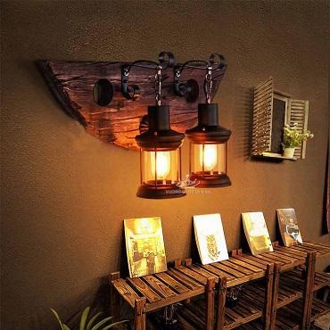 TOP 10 mẫu đèn treo tường quán cafe đẹp mê ly hút mọi khách
